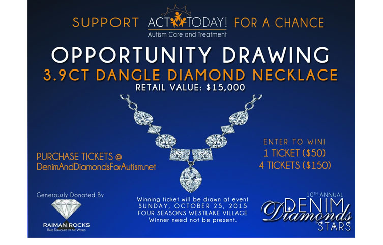 Raffle for Diamond Necklace