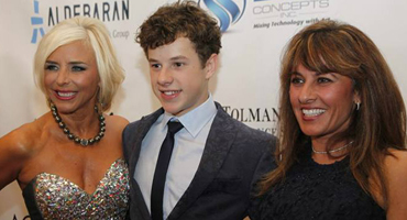 Nolan Gould with Nancy Alspaugh-Jackson & Dr. Doreen Granpeesheh
