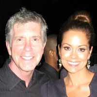 Tom Bergeron & Brooke Burke