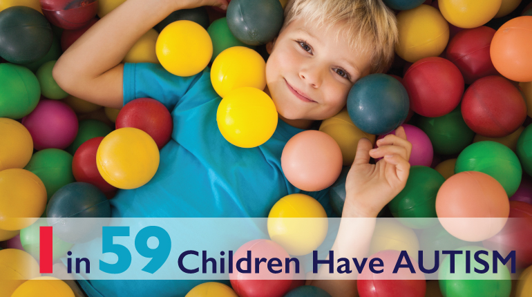 1 in 59 Children Have Autism