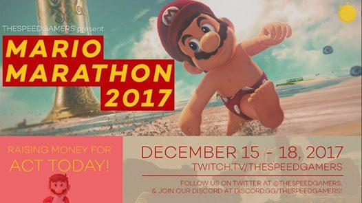 The SpeedGamers Mario Marathon