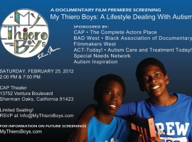 ACT Today! Hosts Premiere Screening of Documentary on Life of Two Brothers and Family Combating Autism